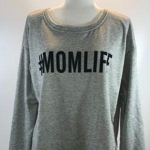 NWOT #MOMLIFE Women's Sweatshirt Size XL #0149